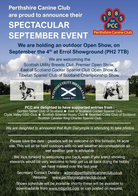 Spectacular September Event......